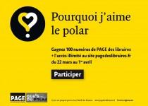 «Pourquoi j'aime le polar» avec Page des libraires