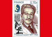 Timbre à l'effigie d'Edmond Locard, le père de la police scientifique