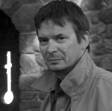 Ian Rankin attending book fair in saint-Malo, France.
