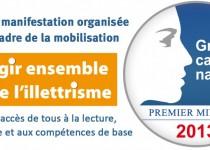 Le festival labellisé «Manifestation dans le cadre de la mobilisation agir ensemble dans la lutte contre l'illettrisme»