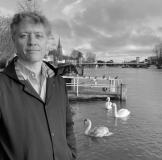Robert Thorogood by Marlow Bridge